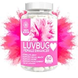 LuvBug Female Enhancement Pills - Hormone Balance Blend w/RX PMS Relief, Libido Booster, Intimacy, Mood Support,...