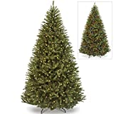 Best Choice Products 7.5ft Pre-Lit Hinged Artificial Fir Christmas Tree w/ 700 Dual Colored LED Lights, Adjustable White and Multicolored Lights, 7 Sequences, Foot Switch, Stand
