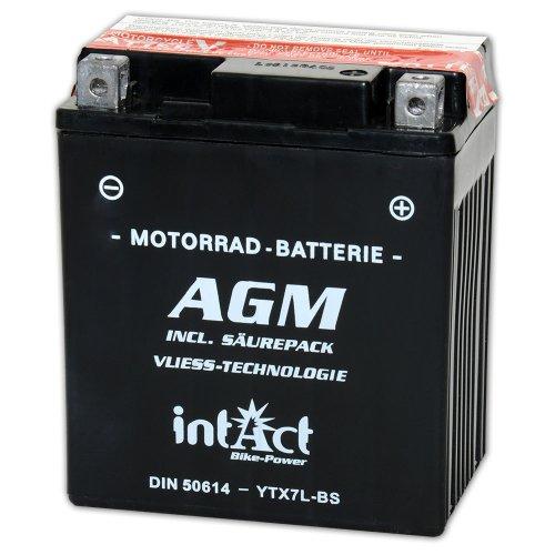 intact Bike-Power AGM 12V 6Ah 50614 YTX7L-BS