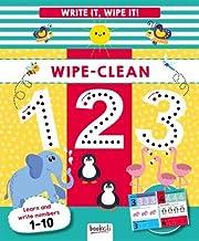 Wipe-Clean 123: Write It, Wipe It!