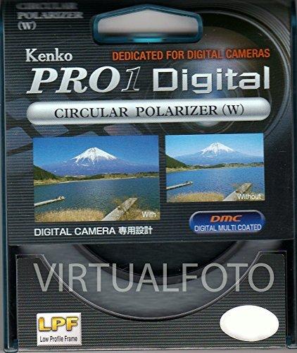 Kenko PRO1 Digital - Filtro polarizador, Gris