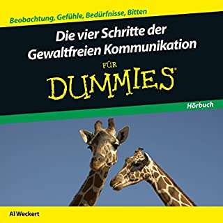 Die vier Schritte der Gewaltfreien Kommunikation für Dummies Titelbild