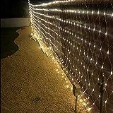 LEYOYO LED Net Lights Outdoor Mesh Lights, 8 Modes 200 Led 6.6ft x 9.8ft...