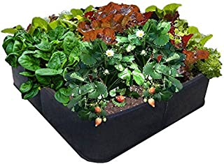 EZ-GRO GARDEN 3 ft X 3 ft Raised Bed MED SQUARE AeroFlow Proprietary Fabric