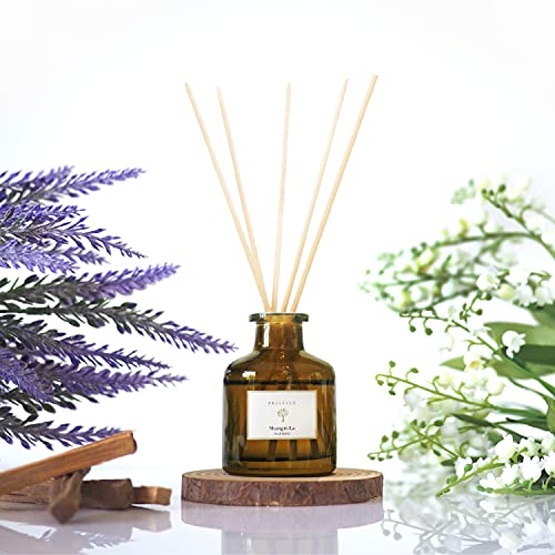 Inspired by The Shangri-la Hotel Reed Diffuser for Home | Lavender, Lily & Sandalwood Fragrance Diffuser | Aromatherapy Scented Oil Reed Diffuser Set...
