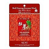 The Elixir Beauty Korean Collagen Essence Full Face Facial Sheet, 35 Combo Pack, Red Ginseng Essence
