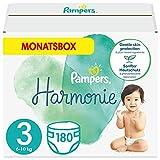 Pampers Baby Windeln Größe 3 (6-10 kg) Harmonie, 180 Stück, MONATSBOX