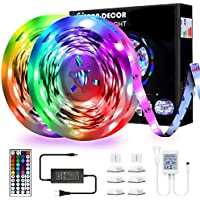 Yarra Decor 32.8 feet RGB Color Changing LED Strip Lights with Remote