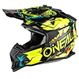 Oneal 2SRS Youth Helmet Villain Neon Yellow M (51/52 cm) Casco, Adultos Unisex