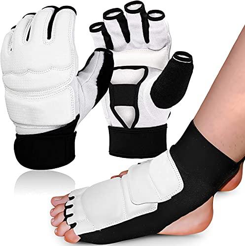 Taekwondo Handschuhe und Fußschutz Set,...