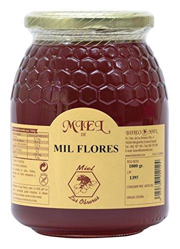 Miel de Mil Flores Las Obreras 1000 g