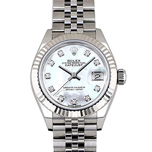 ロレックス ROLEX デイトジャスト 279174NG ホワイトシェル文字盤 腕時計 レディース (W208047) [並行輸入品]