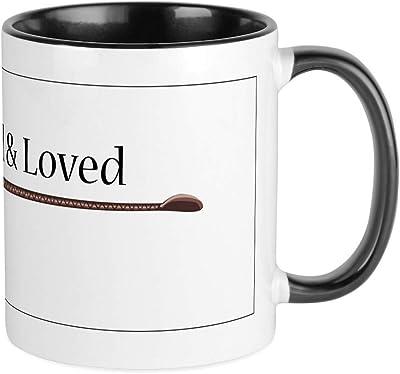 CafePress Owned & Loved マグカップ ユニークコーヒーマグ コーヒーカップ