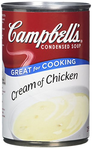 Campbells Condensed Cream of Chicken Soup (Pack of 6)