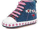 Bobobaby Bebé Zapatilla Zapatos de Bebé ZB-69 (12,5 cm (12-18 Mes), Jeans)