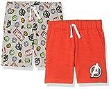 Spotted Zebra Disney Star Wars Pantalones Cortos de Juego Jersey Tejidos, Paquete de 2 Marvel Power, M