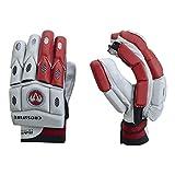 Ram Cricket guantes de bateo - Senior Crossfire - rojo/blanco
