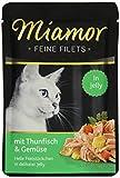 Miamor Katzenfutter Feine Filets Thunfisch & Gemüse 100 g, 24er Pack (24 x 100 g)