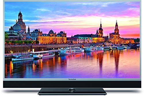 TechniSat TECHNIVISTA 49 SL (123 cm) UHD Fernseher (4K, 3x Twin Tuner, Smart TV, Alexa Sprachsteuerung, PVR Aufnahmefunktion, WLAN, LAN) silber metallic/schwarz
