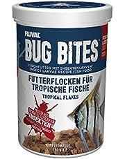 Fluval Bug Bites płatki karmy dla ryb tropikalnych, 1 opakowanie (1 x 0,271 kg)