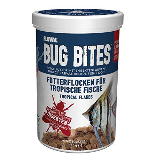 Fluval Bug Bites Futterflocken für Tropische Fische, 1er Pack (1 x 0.271 kilograms)