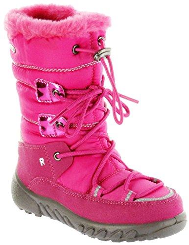 Richter Kinder Winter Stiefel pink Warm Sympatex Mädchen Schuhe WMS 5157-241-3501 Fuchsia Husky, Farbe:pink, Größe:28 EU