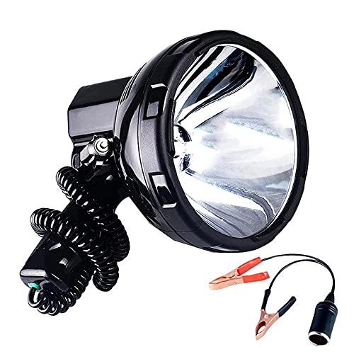 ZGLXZ Impermeable 220W Lámpara De Xenón De Alta Potencia De Alta Potencia De Mano De La Mano De La Mano De La Mano De La Patrol De Pesca H3 HID HID Búsqueda, Fácil De Llevar