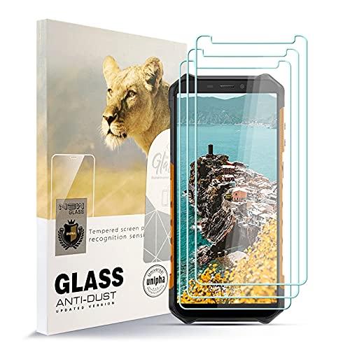 AYSOW Pellicola Salvaschermo per Ulefone X5 PRO Pellicola in Vetro Temperato HD Anti-Impronta Senza Bolle Facile da Installare, Ulefone X5 PRO Protezione in Vetro con Durezza 9H [Confezione da 3]