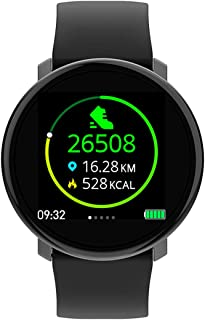 ZNMJW Reloj Inteligente,Monitorización táctil Completa oximetría de la presión Arterial frecuencia cardíaca, IP67 a Prueba de Agua, recordatorio de información de Llamadas Modo multideportivo