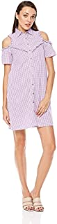 Lee Cooper Gingham Shirt Dress for Women