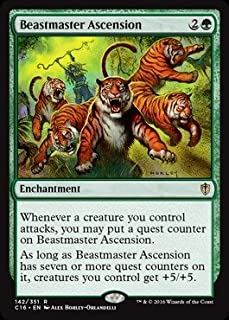 Magic: the Gathering - Beastmaster Ascension (142/351) - Commander 2016