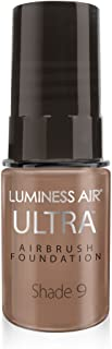 Luminess Air Airbrush Ultra Dewy Finish Foundation, Shade 9, 0.25 Oz