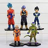 Dragon Ball Z Action Figure Jouets Goku Krillin Vegeta Trunk