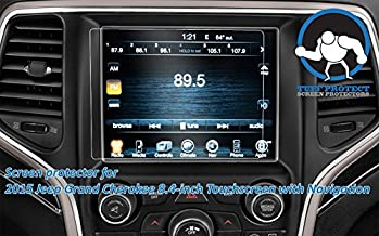 Tuff Protect Anti-glare Screen Protectors For 2015 Jeep Grand Cherokee 8.4 Uconnect Touchscreen
