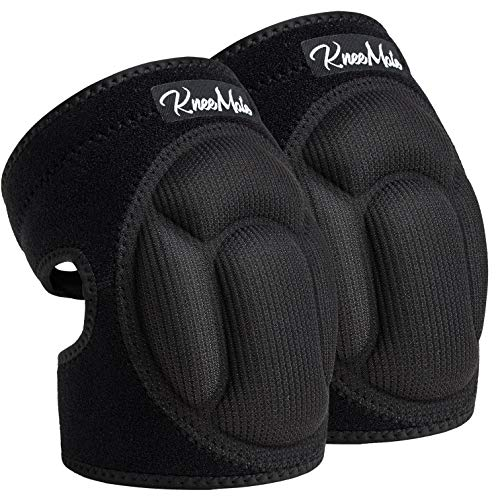 KneeMate Knee Pads for Garden, Suitable for Gardening, House Cleaning, Construction Work, Flooring Kneepads with Thick EVA Foam Padding, Comfortable Kneeling Cushion for Floors Cleaning Scrubbing