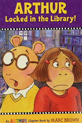 Arthur Locked in the Library!: An Arthur Chapter Book (Marc Brown Arthur Chapter Books (Paperback))