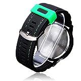 Bheema V6 V0198 Super Speed Big Dial Net Number Black Men Wrist Watch