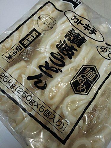 【業務用冷凍食品】テーブルマーク 麺始め讃岐うどん 250g×5