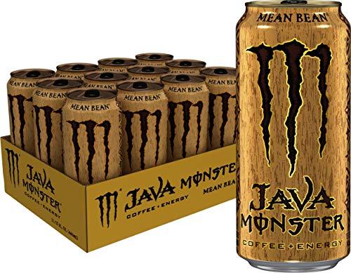 Monster Energy Java Monster Mean Bean Coffee  Energy Drink 15 Ounce Pack of 12
