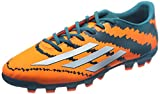 adidas Performance Messi 10.3 AG, Botas de fútbol Hombre, Power Teal F14/Ftwr White/Solar Orange, 41.3