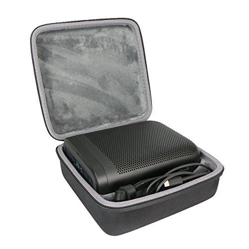 Hart Reise Schutz Hülle Etui Tasche für Bang & Olufsen Beoplay P6 Bluetooth-Lautsprecher Mikrofon von co2CREA, schwarz