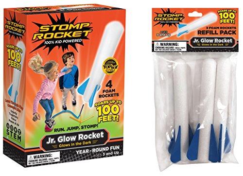 The Original Stomp Rocket Jr. Glow Rocket | Amazon