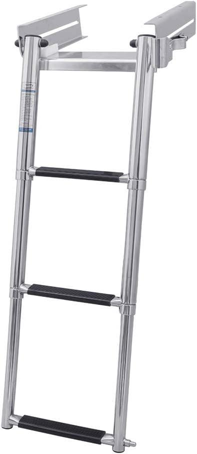 White Water Marine 予約 Boat Under デポー Platform Release Quick Ladder