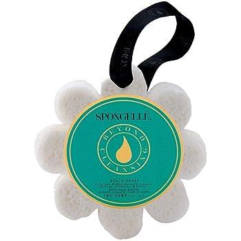Spongelle Wild Flower Buffer - Body Wash Infused Shower/Bath Sponge - Beach Grass
