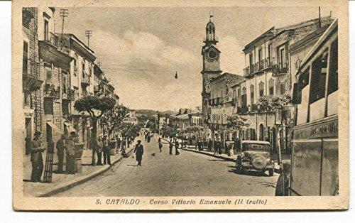 1943 S.Cataldo Corso Vittorio Emanuele auto epoca