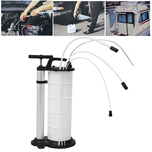 SHIOUCY 9L Professionelle Öl-Flüssigkeitsaugpumpe, für Benzin, Kraftstoff, Vakuum-Absaugung, mit Bedienungsanleitung (evtl. nicht in deutscher Sprache)