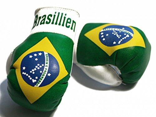 Doktor Hardstuff Mini Boxhandschuhe - Brasilien