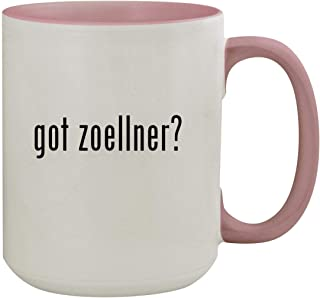 got zoellner? - 15oz Colored Inner & Handle Ceramic Coffee Mug, Pink