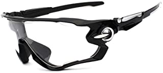 Óculos Esportivo Bike Ciclismo Lentes Noturnas Transparente