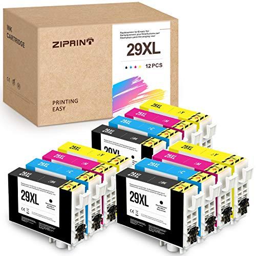 ZIPRINT 29XL - Cartucce di ricambio per Epson 29XL T2991 T29XL T29 compatibili con Epson XP-342 xp-352 xp-245 xp-442 xp-332 xp-345 xp-452 xp455 xp-445 xp-235 XP-35 5 XP-335